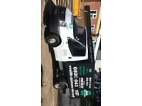 Ford transit tipper with cage