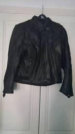 Ladies Size 10 Leather 2 piece