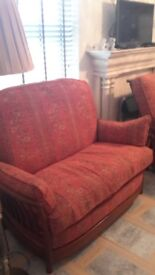 Ercol Two Seater Three Piece Suite