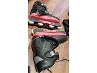 A pair of Aggressive Inline Skates In Good Condition