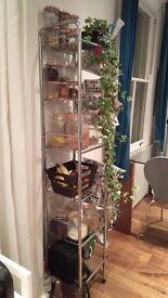 Tier wire shelf unit