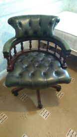 Good Quality Green Captain Chair For Sale