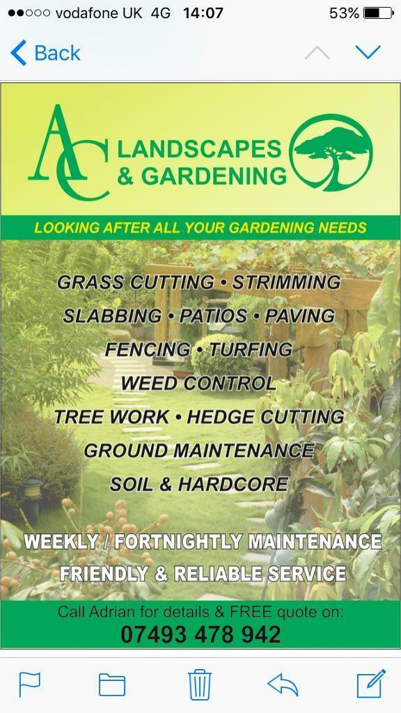 Landscape Gardeners West Midlands Ac landscapes and gardening in great barr west midlands gumtree ac landscapes and gardening workwithnaturefo