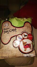 Masta Deluxe high vis dog coat.