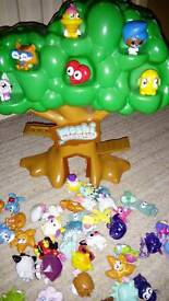 Moshi monsters tree with 48 Moshis