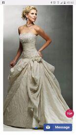 ivory wedding dress 14/16