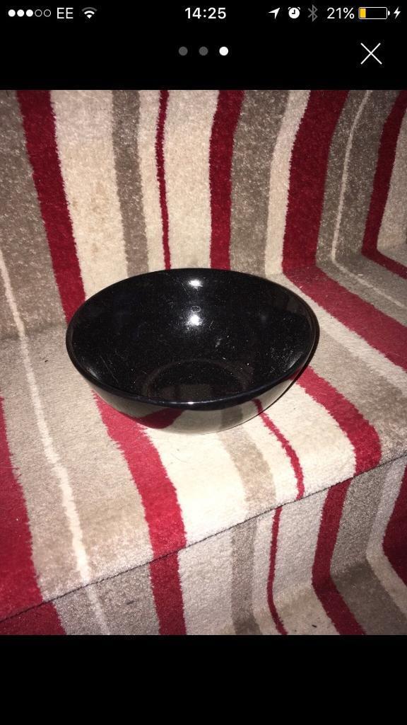35 piece Black ikea dinner set in Hall Green West Midlands