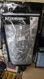 Open end flange head blind rivet 9.5x 11.5mm grip