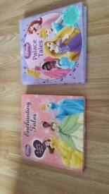 Disney princess story books.