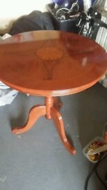 BARGAIN NEW INLAID OCCASIONAL IDEAL COFFEE TABLE TABLE £10