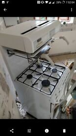 Cannon Gas Cooker With Oven & Eye Level Grill In Great Condition