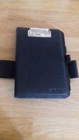 Ipad mini case with strap and clip board