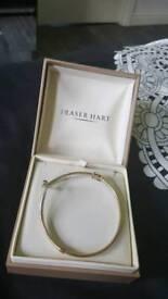 brand new 9k gold bracelet boxed 👌😍
