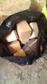 Bags of wood