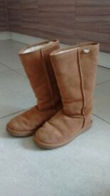 ***emu*** Sheepskin Bronte Hi Boots (size UK5)
