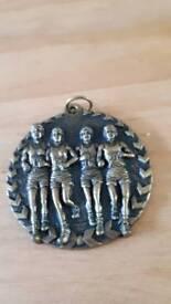 Vintage runners medal