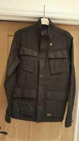 Mens g star black jacket size xl