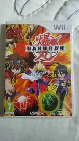 Bakugan Battle Brawlers Wii Video Game