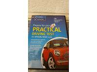 DVSA DVD video Prepare for your practical Driving Test and AA Complete Test Book