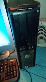 Dell optiplex 360 core 2 duo windows 7 Core 2 Duo E5200 2 2.5ghz 160gb hard drive and 2gb ram