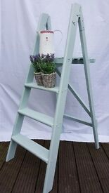 Shabby Chic Blue Ladders