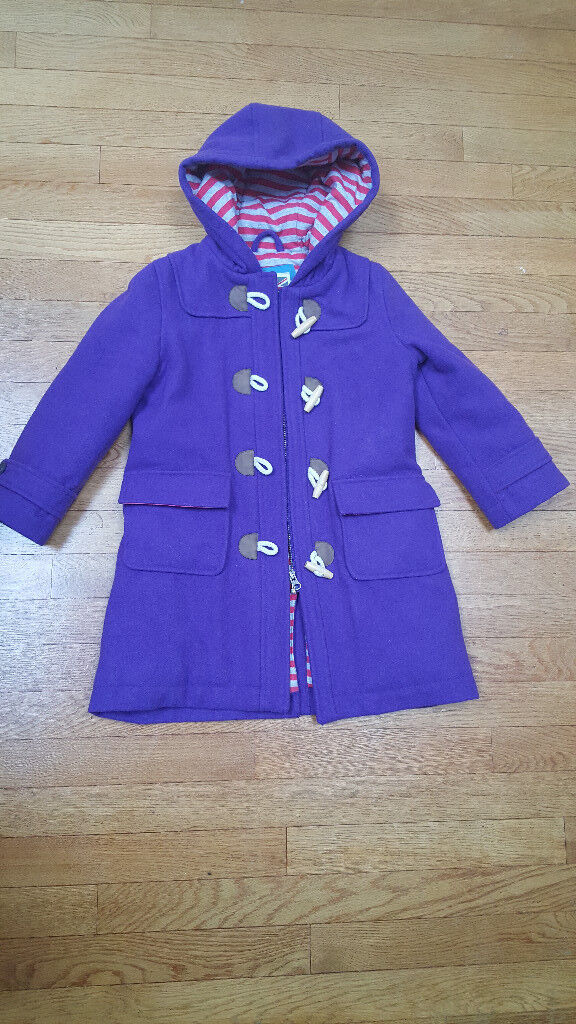 Mini Boden purple duffle coat age 5-6 | in Southville, Bristol ...