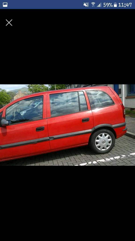 Vauxhall zafria 1.6 spare or repairs non runner