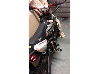 Stomp 110cc pit bike