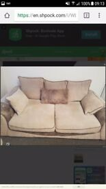 3 & 2 seater sofa's for sale 2 years old