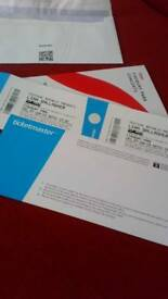 2 x Liam Gallagher tickets VIP Finsbury Park 29/06/19