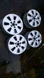 Audi seat vw alloy wheels 16""