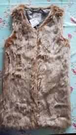 Girls Next Fur Waistcoat