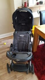 Graco stadium due tandem pushchair