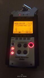 zoom h4n recorder £100! cheap BODY only can post !