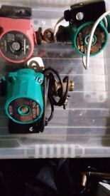 Central Heating pumps used