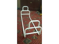 DOUBLE ENDED BED GRAB RAILS SUPPORT FRAME