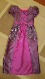 Girls Reversible Princess and Halloween Dress