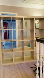 IKEA Kallax cube unit for sale. 4x4