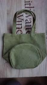 Small hessian bag