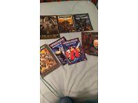 8 Warhammer 40k and Space Hulk books £20