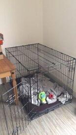 Dog crate - medium size