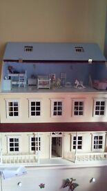 Fully furnished dolls house (Inc working lights) £150 ono