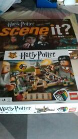 2 x harry potter games hogwarts lego and scene it
