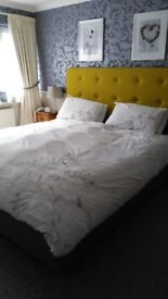 Adjustable Dunlipillo Superking Bed .Wireless remote controls Excellent condition