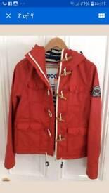 Super dry coat XL bnwt