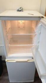 white fridge freezer+good working order+DELIVERY