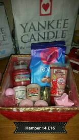 Gift hampers valentine baskets yankee candle ❤
