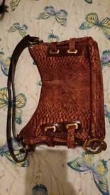 Gianni conti animal print handbag, can post etc
