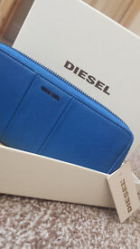 Brand new DIESEL real leather wallet, RRP 139£