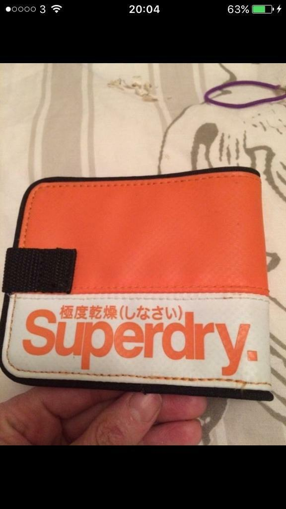 Superdry wallet